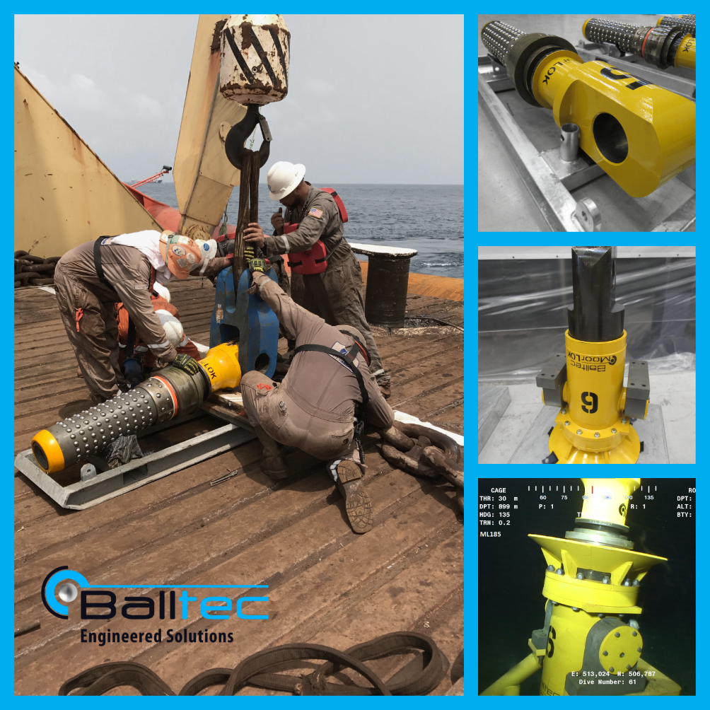 Balltec secures contract award from Intermoor for its MoorLOK subsea mooring connectors