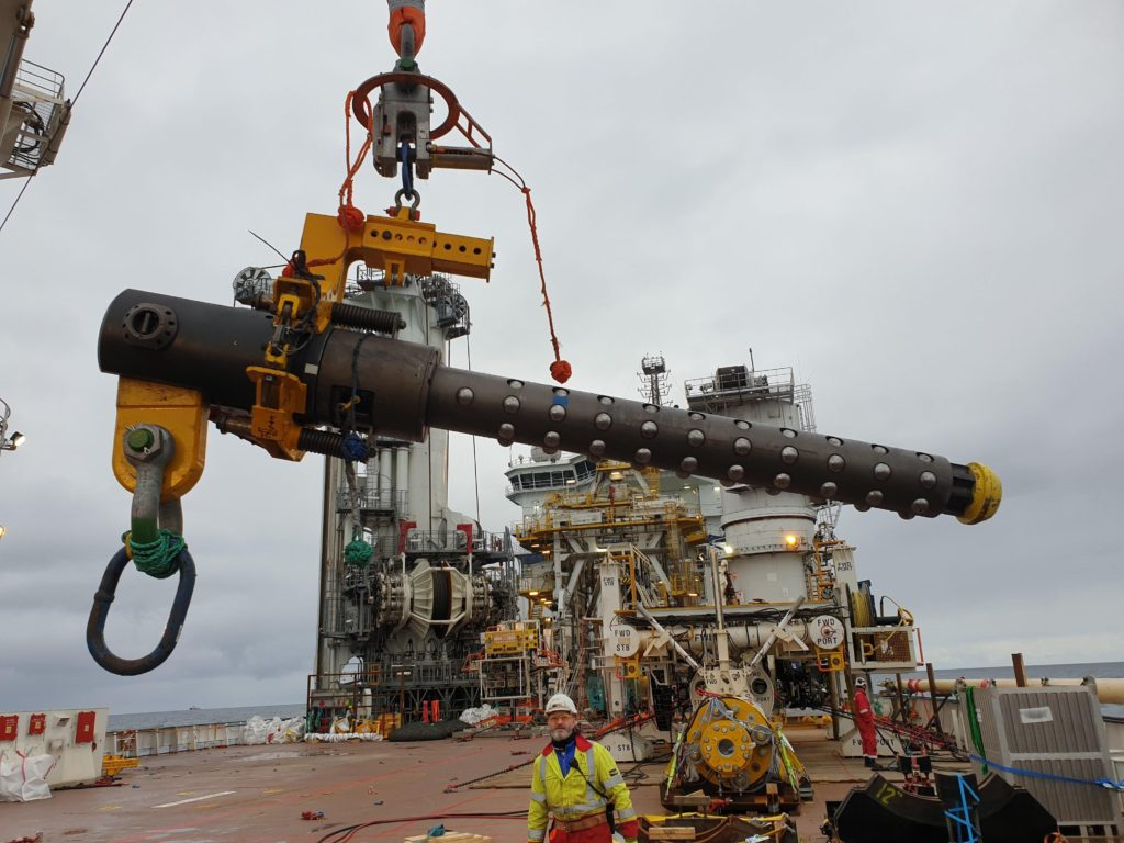 Balltec completes offshore pipeline recovery work in the North Sea