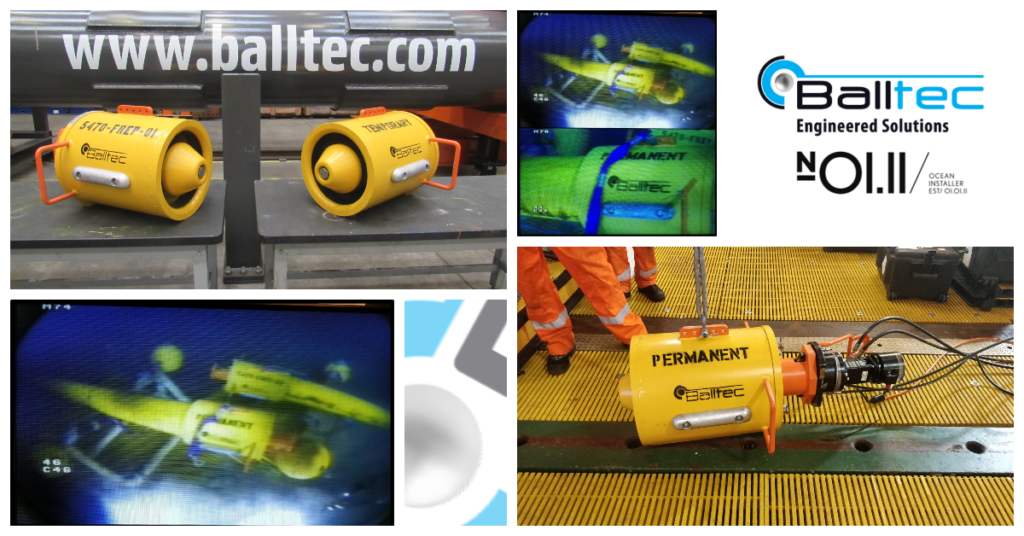 Balltec provide Oil Export Flexible Riser Plugs for decommissioning project