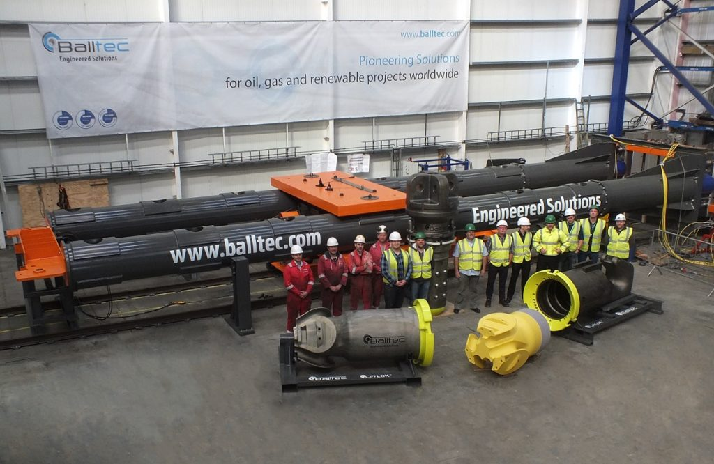 Balltec delivers Lifting System for Allseas