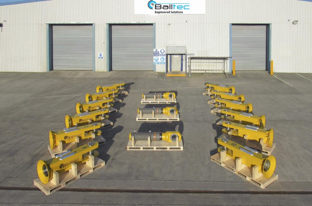 Balltec completes delivery of mooring equipment for Bluewater Energy BV